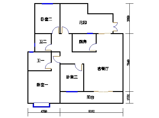 五层H单元