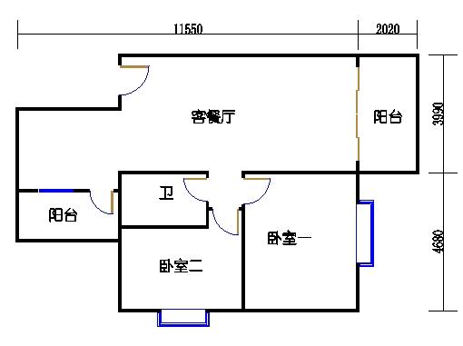1座1.2梯3-5层A单元302-502