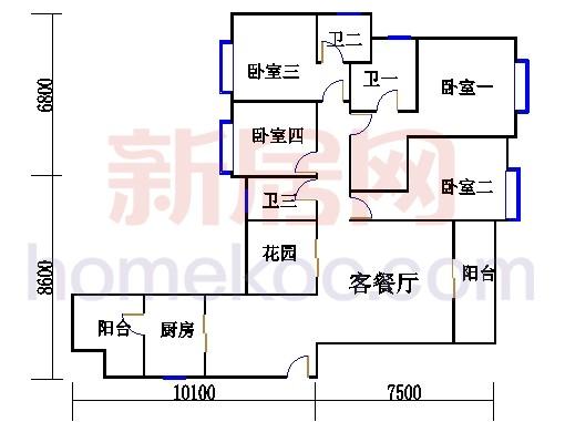 B栋3-29层02单元