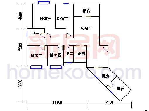 C栋24-26层01单元