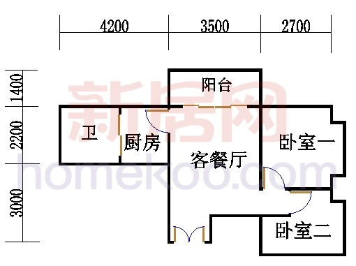 A栋23层A01单元