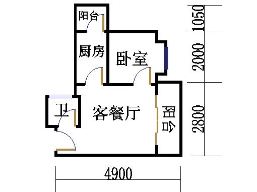 B栋23层B01单元