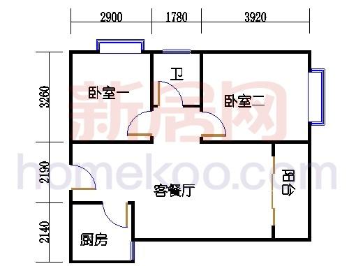 17楼2-12层04单元