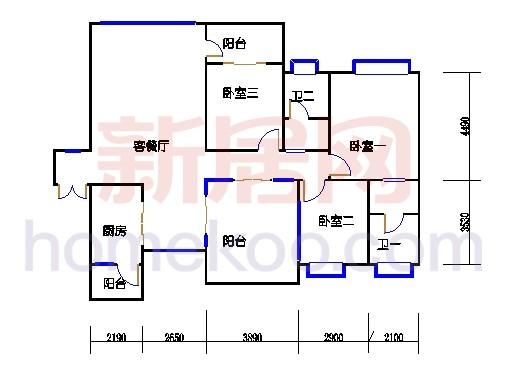 A单元7号楼1号房