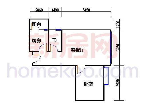 2号楼A单元8号房
