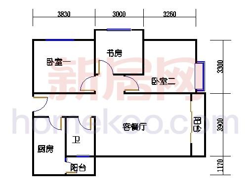 2号楼A单元4.5号房