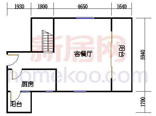 第二座底层复式二十九楼02单元
