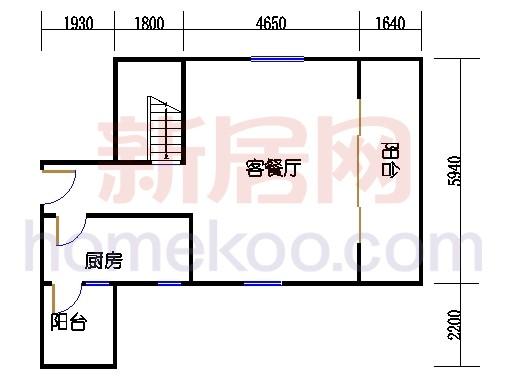 第二座底层复式二十九楼06单元