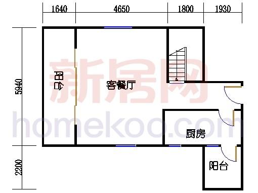第一座底层复式二十八楼03单元