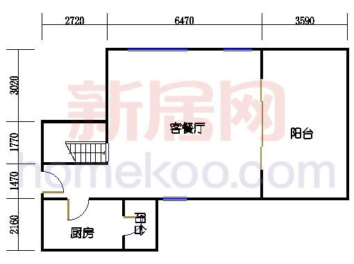 第一座底层复式二十八楼04单元