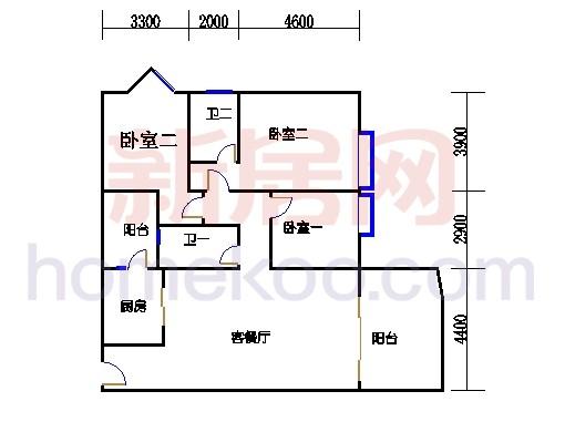 B座5-16层0503-1603