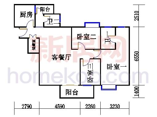 D栋5、6至18层02单元