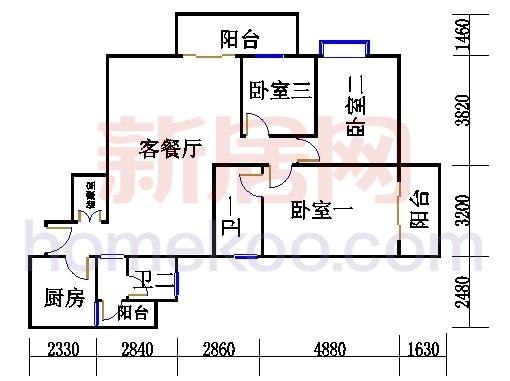 D栋5、6至18层03单元