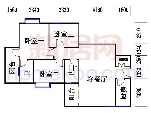 D栋5、6至18层04单元