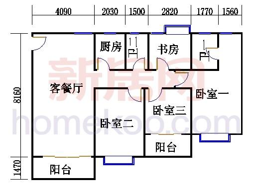 E栋13至15层05单元