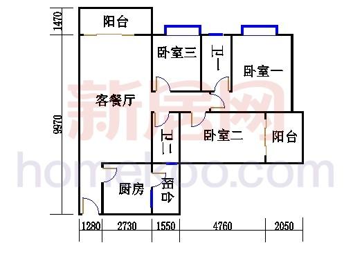 E栋5、6至12层02单元