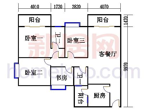 E栋5、6至12层03单元