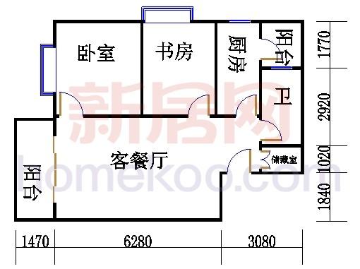 E栋5、6至12层04单元