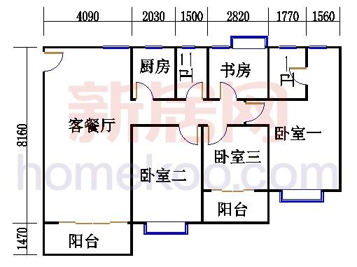 E栋5、6至12层05单元