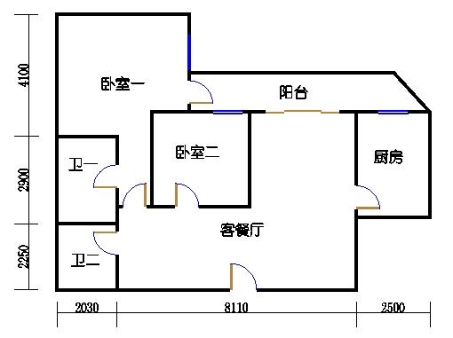 A.B栋5-33层C单元