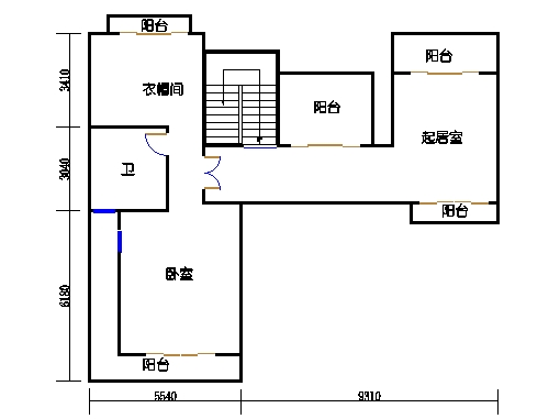 A4单元二层