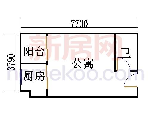 东塔6层04单位