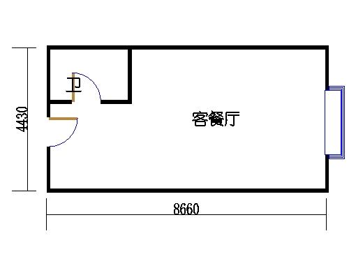 国鑫商务公寓楼4-7层09单元