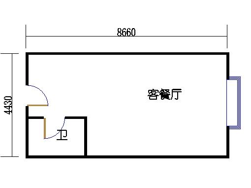 国鑫商务公寓楼4-7层11单元