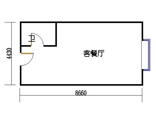 国鑫商务公寓楼4-7层12单元