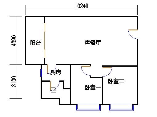 国鑫商务公寓楼8-9层01单元