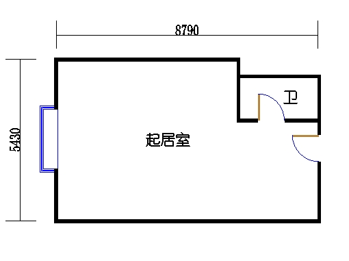 国鑫商务公寓楼8-9层03单元