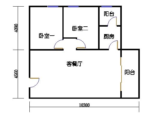 国鑫商务公寓楼8-9层07单元