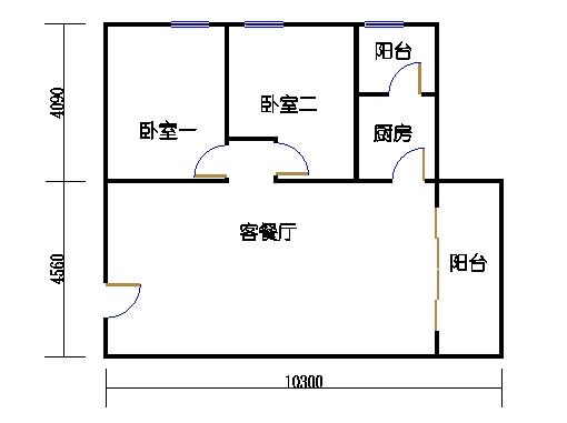 国鑫商务公寓楼8-9层08单元