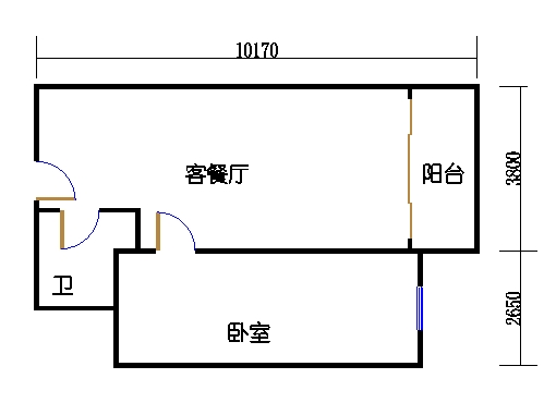 国鑫商务公寓楼8-9层10单元