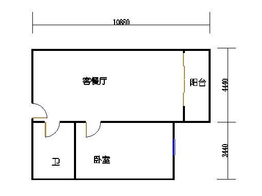 国鑫商务公寓楼8-9层13单元