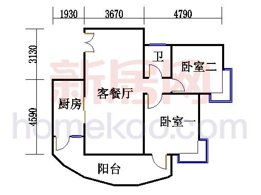 C1栋04-18.22-2b双数层06单元