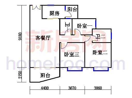 C1栋05-17.23-25单数层01单元