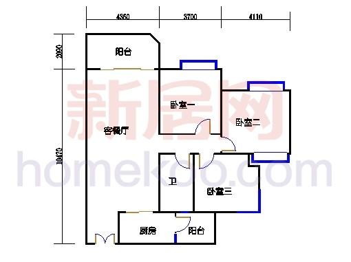 C1栋05-17.23-25单数层05单元