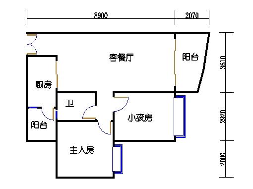 C1栋19层02单元