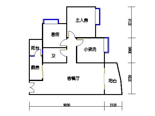 C1栋19层04单元