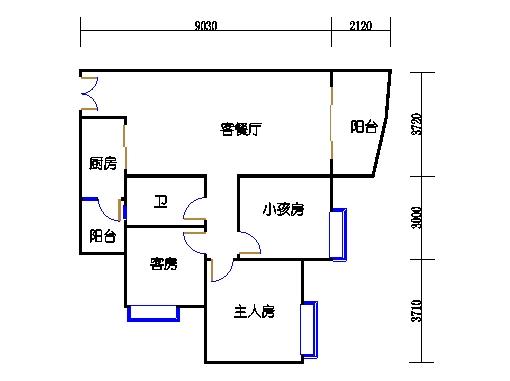C1栋19层05单元
