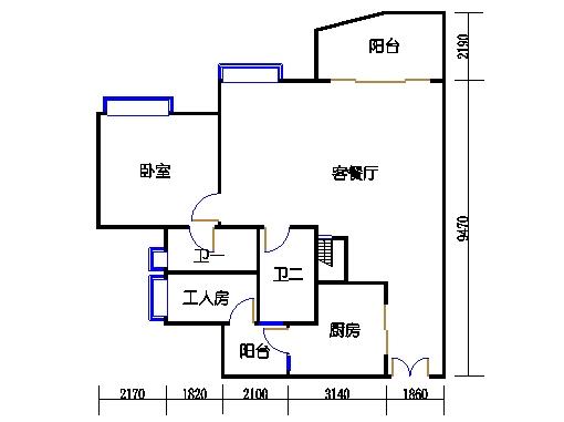 C1栋27层04单元