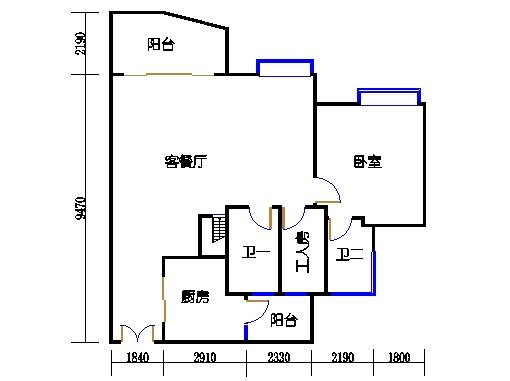 C1栋27层05单元