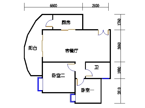 C2栋03-21层03单元