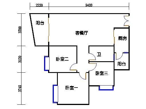 C2栋03-21层04单元