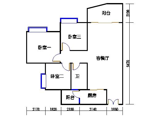 C2栋02-20层04单元