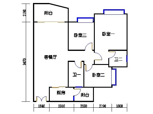 C2栋02-20层05单元
