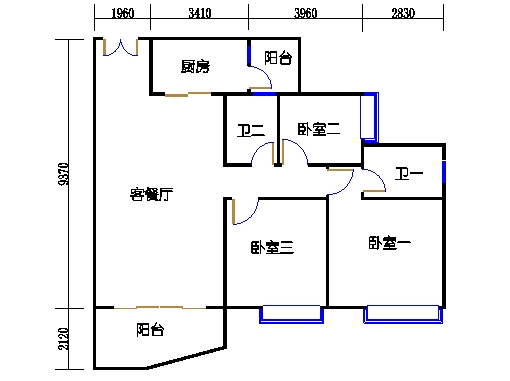 C2栋04-18.22-2b双数层01单元