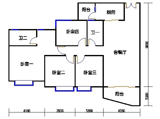 C2栋04-18.22-2b双数层02单元