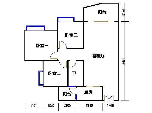 C2栋04-18.22-2b双数层04单元
